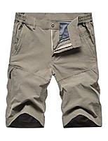 cheap -men's outdoor lightweight hiking shorts stretch quick dry sports casual cargo shorts,khaki, 2xl(tag 3xl)