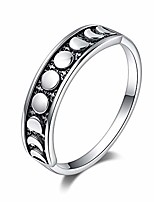 cheap -vintage women rings, 925 sterling silver moon ring moon phase ring lunar moon phase ring for women and girls (9)