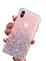 "cheap -iphone xs max case, glitter luxury shiny sparkly silm bling crystal soft silicone clear 3d emboss tpu protective girls women phone cover for apple iphone xs max 6.5"" (pink)"