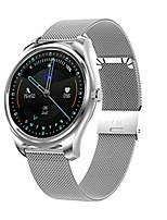 cheap -smart watch for android and ios phone compatible with iphone samsung, fitness tracker watch with swimming waterproof, heart rate ,sleep and blood pressure monitoring, step counte (silver)