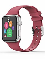 cheap -sport band compatible with apple watch 38/40mm 42/44mm for women/men,waterproof bands replacement strap accessory for iwatch apple watch series 6/5/4/3/2/1 (38/40mm s/m, hibiscus)