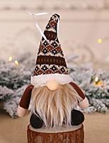 cheap -gnome christmas ornaments,handmade swedish tomte gnomes plush scandinavian santa elf plush tomte doll toy gift for kids christmas tree hanging decoration home table decor