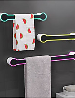 cheap -Towel Rack Free Perforated Bathroom Bathroom Wall-mounted Suction Cup Towel Rack Creative Single Towel Bar Rack