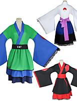 cheap -Inspired by Naruto Akatsuki Anime Cosplay Costumes Japanese Cosplay Suits Kimono Coat For Women's