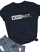 cheap -women graphic t shirts summer funny tees black small