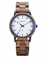 cheap -wooden watch womens casual simple style natural acacia wood handmade lightweight wrist watches for women with date ideal gift for lady