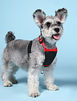 cheap -Dog Harness Ordinary Casual / Sporty Dog Clothes Puppy Clothes Dog Outfits Red+Black Costume for Girl and Boy Dog Mesh XS S M L