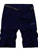 cheap -men's outdoor hiking summer quick dry waterproof tactical sports shorts hy2026 royal blue