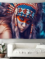 cheap -Wall Tapestry Art Decor Blanket Curtain Picnic Tablecloth Hanging Home Bedroom Living Room Dorm Decoration Polyester Ancient Indian