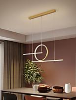 cheap -66cm LED Pendant Light Modern Nordic Island Light Geometric Shapes Single Design Pendant Light Dining Room Living Room Metal Painted Finishes 110-120V 220-240V