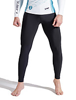 cheap -SABOLAY Men's Dive Skin Leggings Bottoms Windproof Breathable Quick Dry Full Body Swimming Surfing Water Sports Patchwork Summer / Stretchy