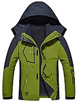 cheap -men's 3in1 fleece big and tall outdoor warm jackets green xs