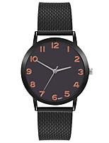 cheap -Women's Quartz Watches Quartz Stylish Fashion Adorable Analog Golden+Black White+Golden Black / One Year