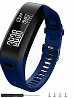 cheap -compatible with garmin vivosmart hr replacement bands,soft silicone replacement band for garmin vivosmart hr watch (navy blue, large)