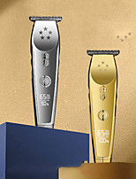 cheap -Oil-Head Electric Hair Clippers Retro LCD Hair Clipper Engraving Gradient Electric Hair Clipper USB Charge