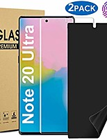 cheap -galaxy note 20 ultra screen protector, [2 pack] [fingerprint sensor compatible] [full adhesive] [case frienldy] [touch sensitive] hd/privacy screen protector for samsung galaxy note 20 ultra 5g