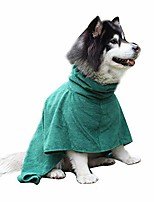 cheap -dog bathrobe,pet sppties dog cat bathrobe fast dry soft bath towel quickly absorbing pajamas toweling super absorbent pet robe,xl