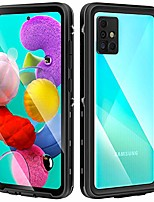 cheap -galaxy a51 case, built in screen protector ip 68 waterproof dust proof shock proof phone case cover for samsung galaxy a51, 4g, 6.5inch (2019 released)