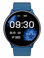 cheap -smart watch for android and ios phone 2020 latest version ip68 waterproof, fitness tracker watch with pedometer heart rate monitor sleep tracker touchscreen, smartwatch for men and women(blue)