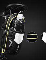 cheap -saddlebag pannier bicycle bag bike bag rainproof scratch-resistant road bike black