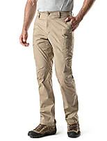 cheap -men's hiking pants, water repellent outdoor pants, lightweight stretch cargo/straight work pants, upf 50  outdoor apparel, driflex cargo(txp424) - khaki, 38w x 32l