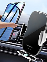 cheap -H9 Magnetic Car Wireless Charging Holder 360 Rotate Simple Fast Wireless Charger For Andriod IOS Smartphone For Iphone 11