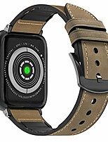 cheap -compatible apple watch band 40mm 38mm, sweatproof hybrid genuine leather and silicone sports watch band replacement for iwatch se series 6 5 4 3 2 1, yellow brown/black