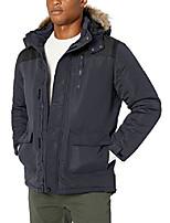 cheap -men's big and tall snorkel parka jacket, charcoal, xxx-large