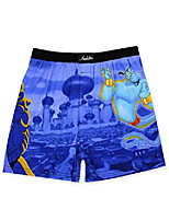 cheap -aladdin genie jafar mens briefly stated boxer lounge shorts (xx-large, blue/multi)