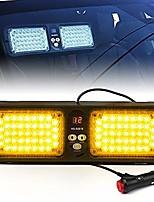 cheap -yellow amber 86 led sunshield sun visor emergency strobe lights 12 flash modes hazard warning light for law enforcement vehicle