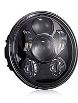 cheap -5 3/4 5.75 inch 45w projector led headlight for harley davidson motorcycles