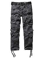 cheap -mens winter fleece lined cargo pant windproof outdoor work pants,dark camo 44