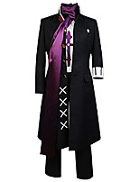 cheap -super danganronpa 2 gundam tanaka cosplay black long coat uniform dress gundam tanaka cosplay costume