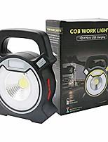 cheap -portable spotlight searchlight usb rechargeable flashlight handheld work light lantern for camping night fishing,gray
