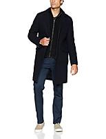 cheap -men's classic wool twill topper with bib, navy, small