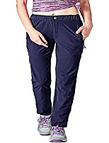 cheap -women& #39;s hiking pants outdoor lightweight quick-drying sportswear travel pants with zipper pocket blue m