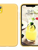 cheap -yinlai iphone xr case 2019 slim fit liquid silicone soft rubber cover non slip grip shockproof protective hybrid hard pc back bumper durable girls phone covers for iphone xr (6.1 inch), yellow