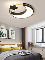 cheap -50cm LED Pendant Light Moon Star Planet Circle Design Geometric Shapes Flush Mount Lights Metal Classic Living Room Bedroom Painted Finishes 110-120V 220-240V
