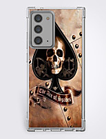 cheap -Skull Case For Samsung S20 Ultra S20 Galaxy S20 FE 5G Unique Design Protective Case Shockproof Back Cover TPU