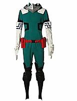 cheap -my hero academia boku no hero akademia izuku midoriya cosplay costume version 2 deku costume (male xl)
