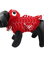 cheap -pet - gea gold fish costume - color: red, size: s