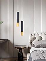 cheap -6 cm LED Pendant Light Single Desgin Bedside Light Dining Room Metal Painted Finishes Modern 110-120V 220-240V