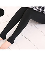 cheap -Women's Sporty Basic Comfort Gym Yoga Leggings Pants Solid Colored Full Length Black Wine Green