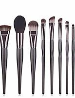 cheap -professional 8 pieces makeup brush set brush set beauty tools makeup tools scatter brush portable beauty brush makeup brush make up brush kits (color : brown)