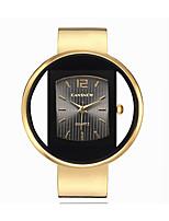 cheap -Women's Quartz Watches Quartz Stylish Fashion Adorable Analog Golden / Brown Golden+Black White+Golden / One Year