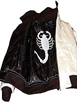 cheap -ryan famous gosling scorpion jacket ivory black