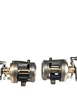 cheap -Fishing Reel Drum Reel 6.0:1 Gear Ratio+10 Ball Bearings Sea Fishing / Bait Casting / Freshwater Fishing / Trolling & Boat Fishing / Hand Orientation Exchangable