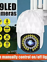 cheap -39 LED Wireless WiFi IP Camera HD 1080P Home Security Camera Outdoor Waterproof Night Shoot Built-in Mic Support Two-way Voice