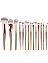 cheap -Professional Makeup Brushes 16pcs Soft Full Coverage Lovely Comfy Plastic for Makeup Tools Eyeliner Brush Blush Brush Foundation Brush Makeup Brush Lip Brush Lash Brush Eyebrow Brush