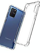 cheap -case for samsung galaxy s10 lite,transparent ultra slim soft silicone tpu anti-fall case (clear)